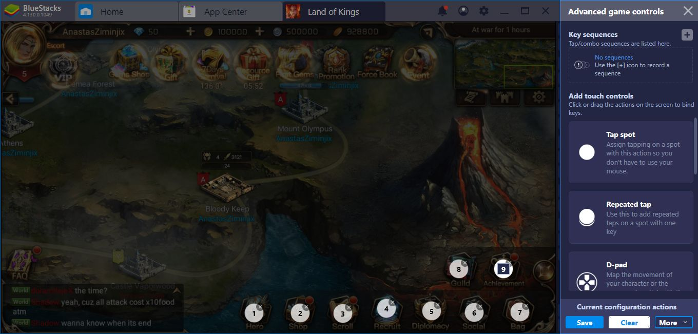 Land Of Kings Setup And Configuration Guide: How BlueStacks Can Help You Fight Against Gods