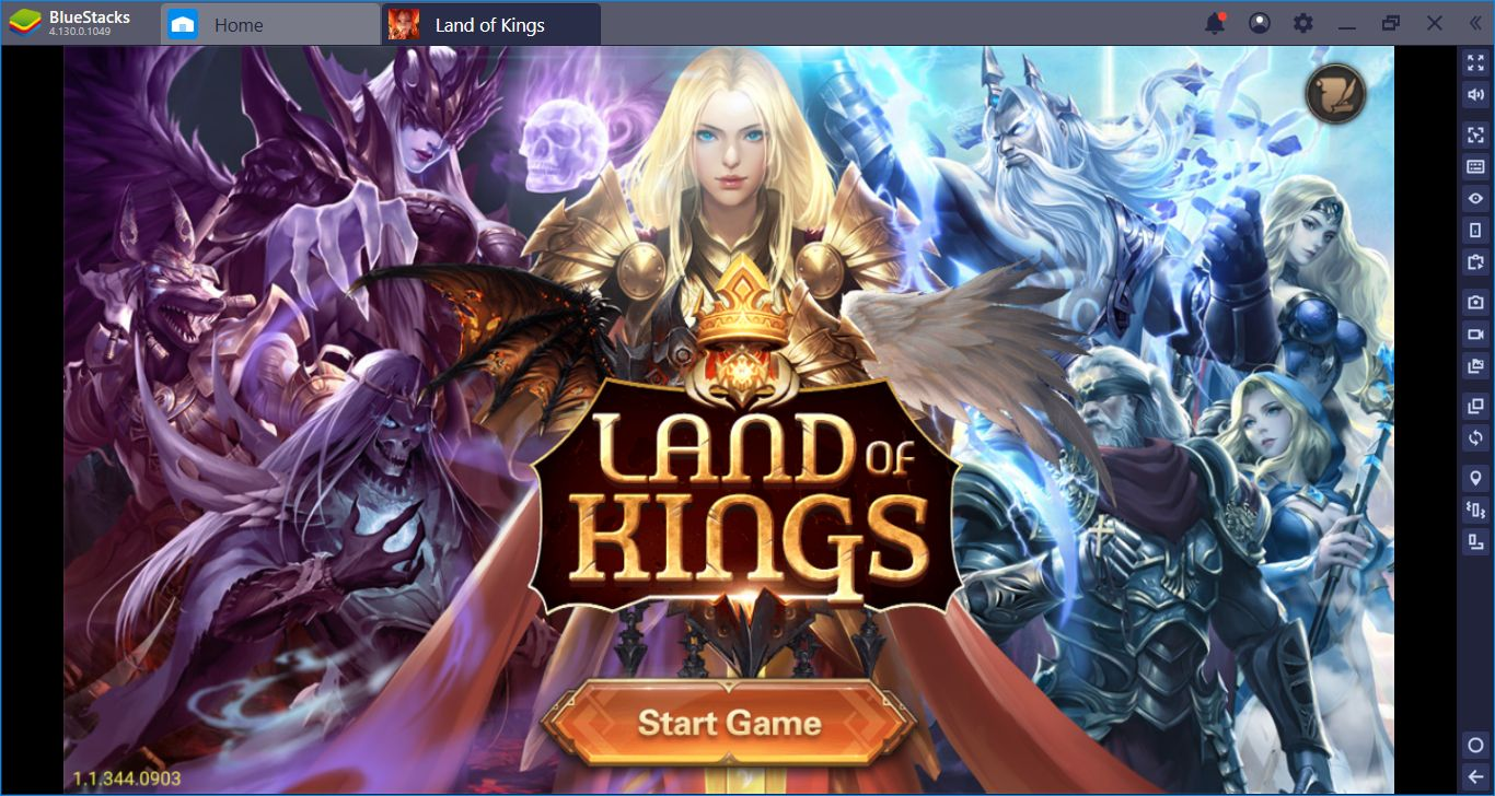 Land Of Kings: Fight Against The Gods, Conquer The World