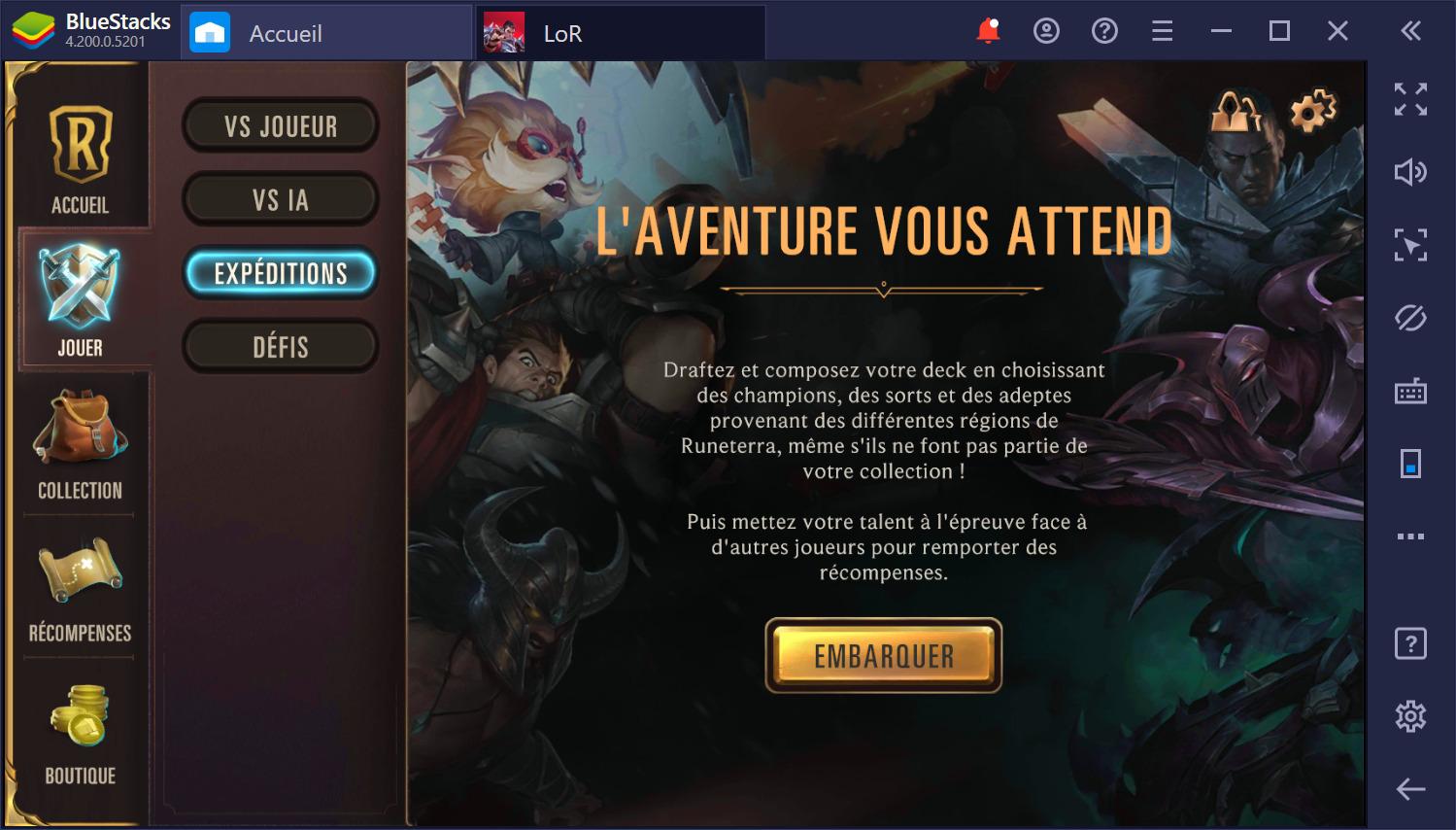 Legends of Runeterra sur PC – Comment gagner de nouvelles cartes et développer ses decks