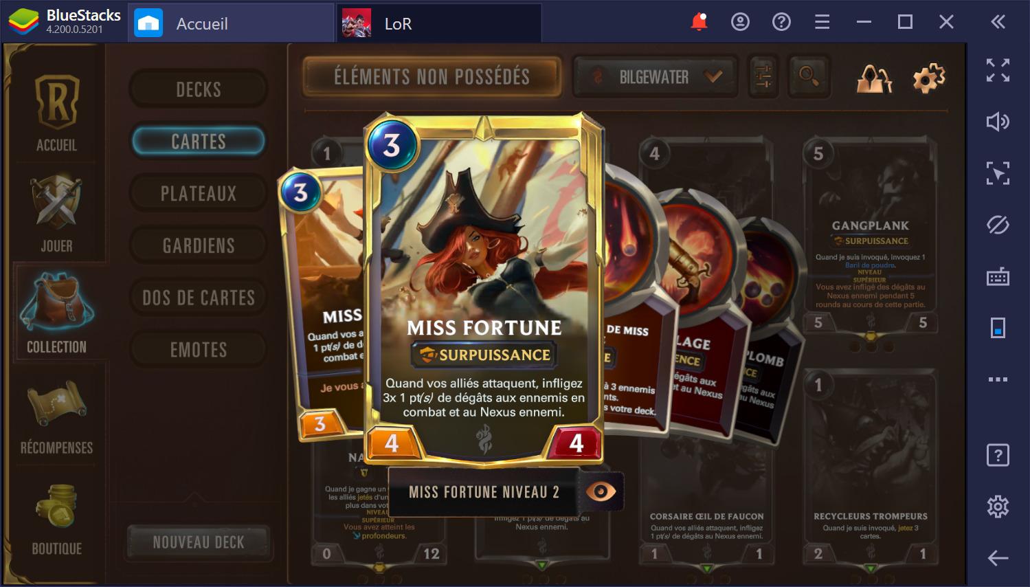 Les meilleurs champions de Legends of Runeterra (avril 2020)