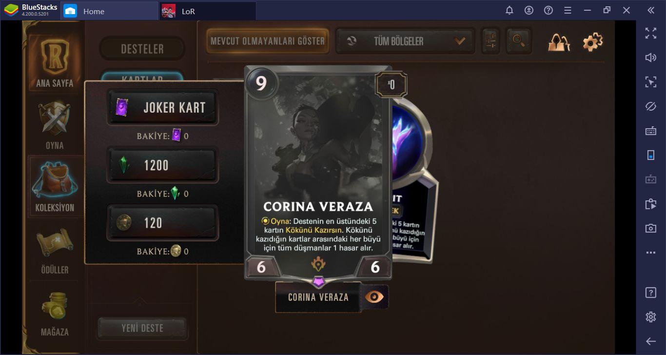 En İyi Legends Of Runeterra Deste Kombinasyonları