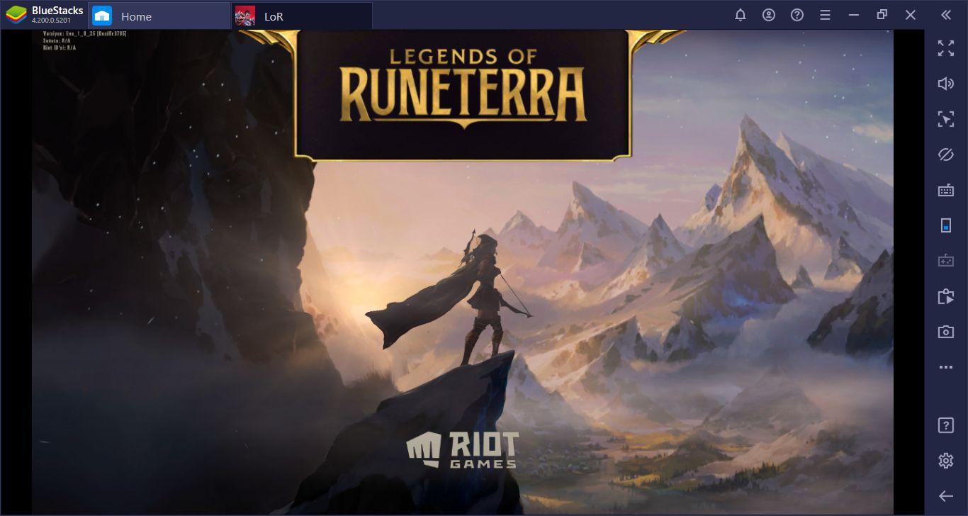 BlueStacks İle Bilgisayarımızda Legends Of Runeterra Oynuyoruz