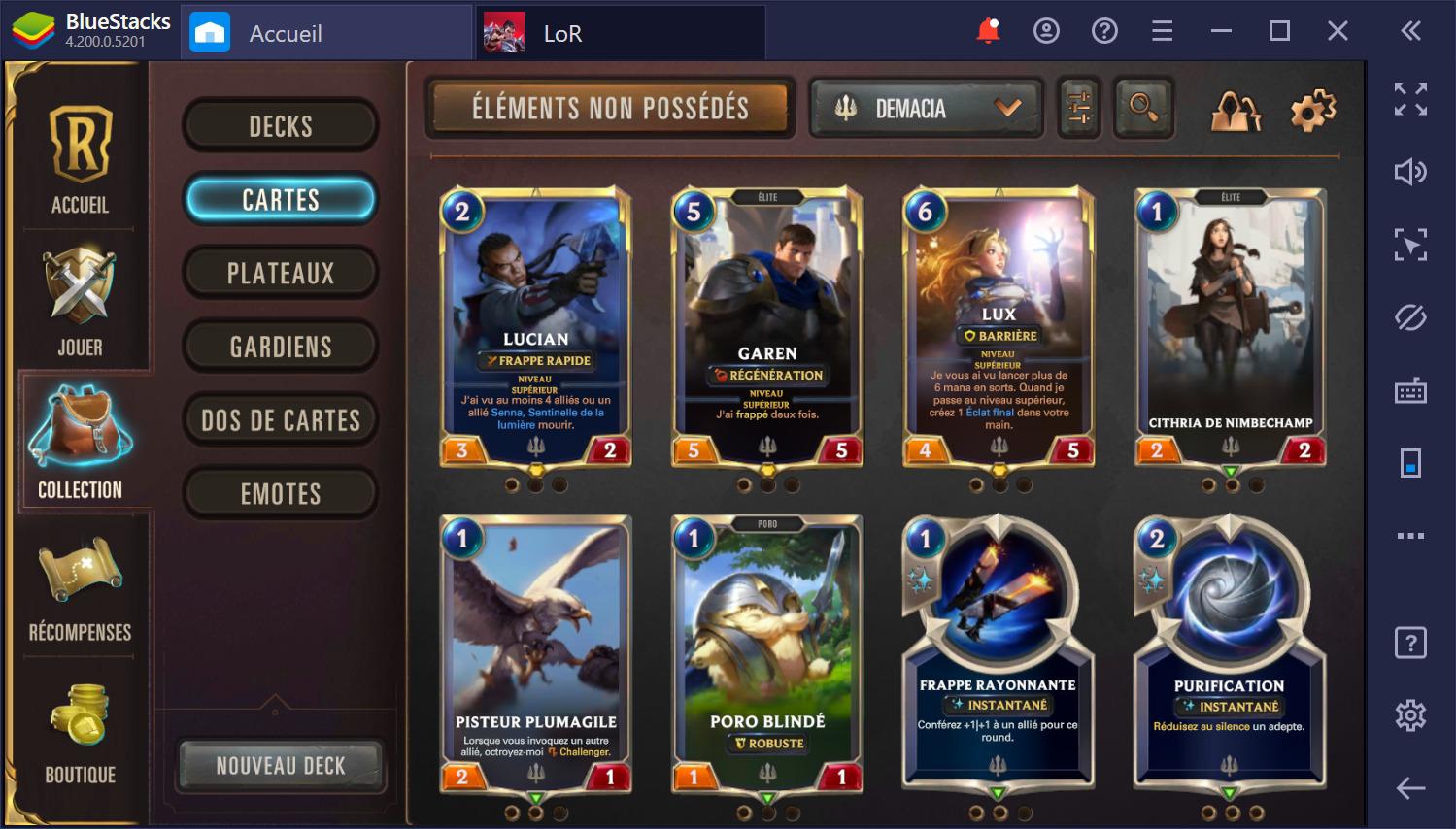 Legends of Runeterra sur PC – Une introduction aux différentes régions