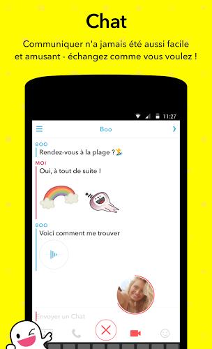 Jouez à  Snapchat app sur PC 3