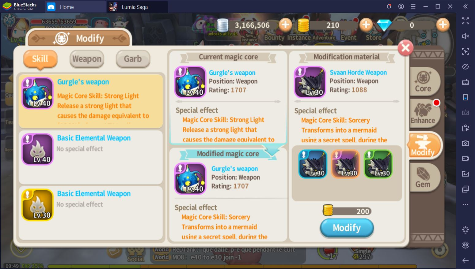 Lumia Saga on PC: How to Boost Your Combat Rating Quickly