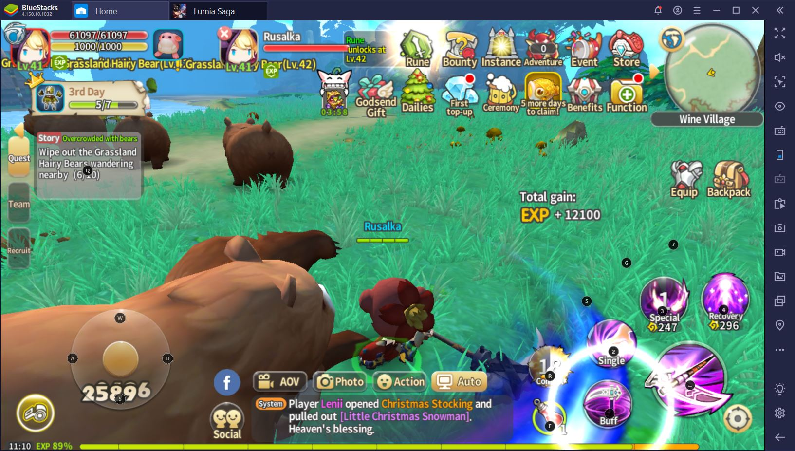 Play Lumia Saga on PC with BlueStacks