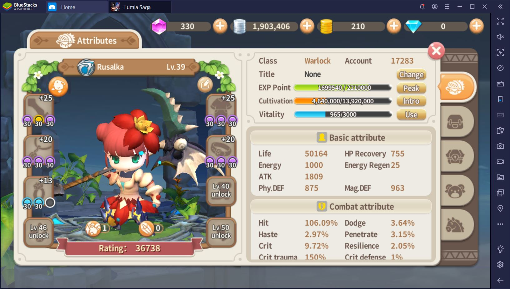 Lumia Saga: The Complete Guide to Classes and Character Development