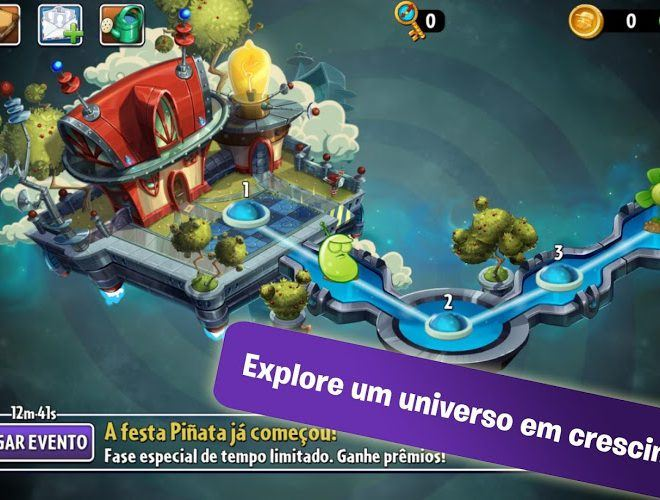 Jogue Plants vs Zombies 2 on pc 9
