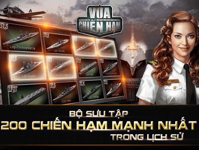 Chơi Vua Chien ham on PC 3