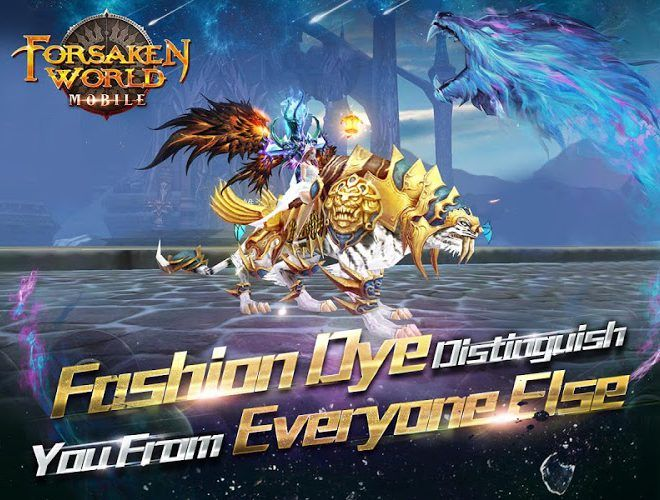 Play Forsaken World Mobile MMORPG on PC 19
