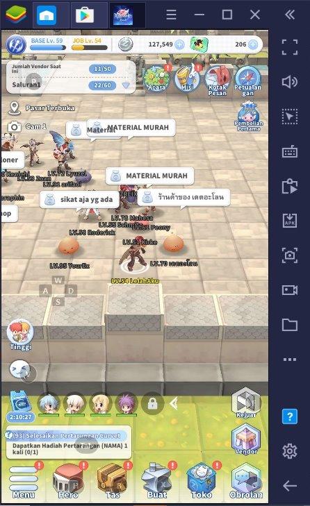 Poin Plus Menjadi Petualang di Game RPG The Labyrinth of Ragnarok