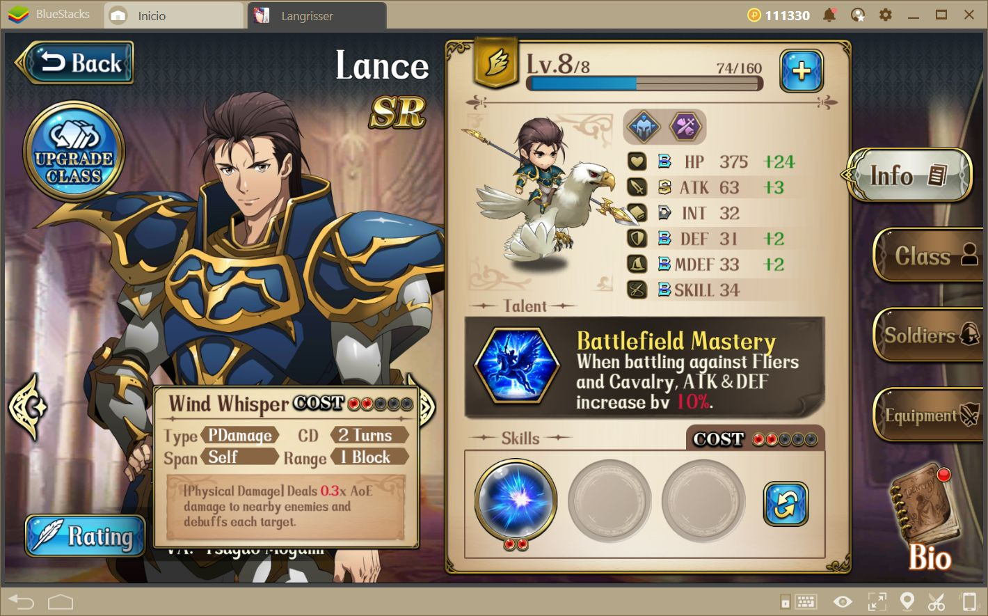 Langrisser—Build your own Dream Team