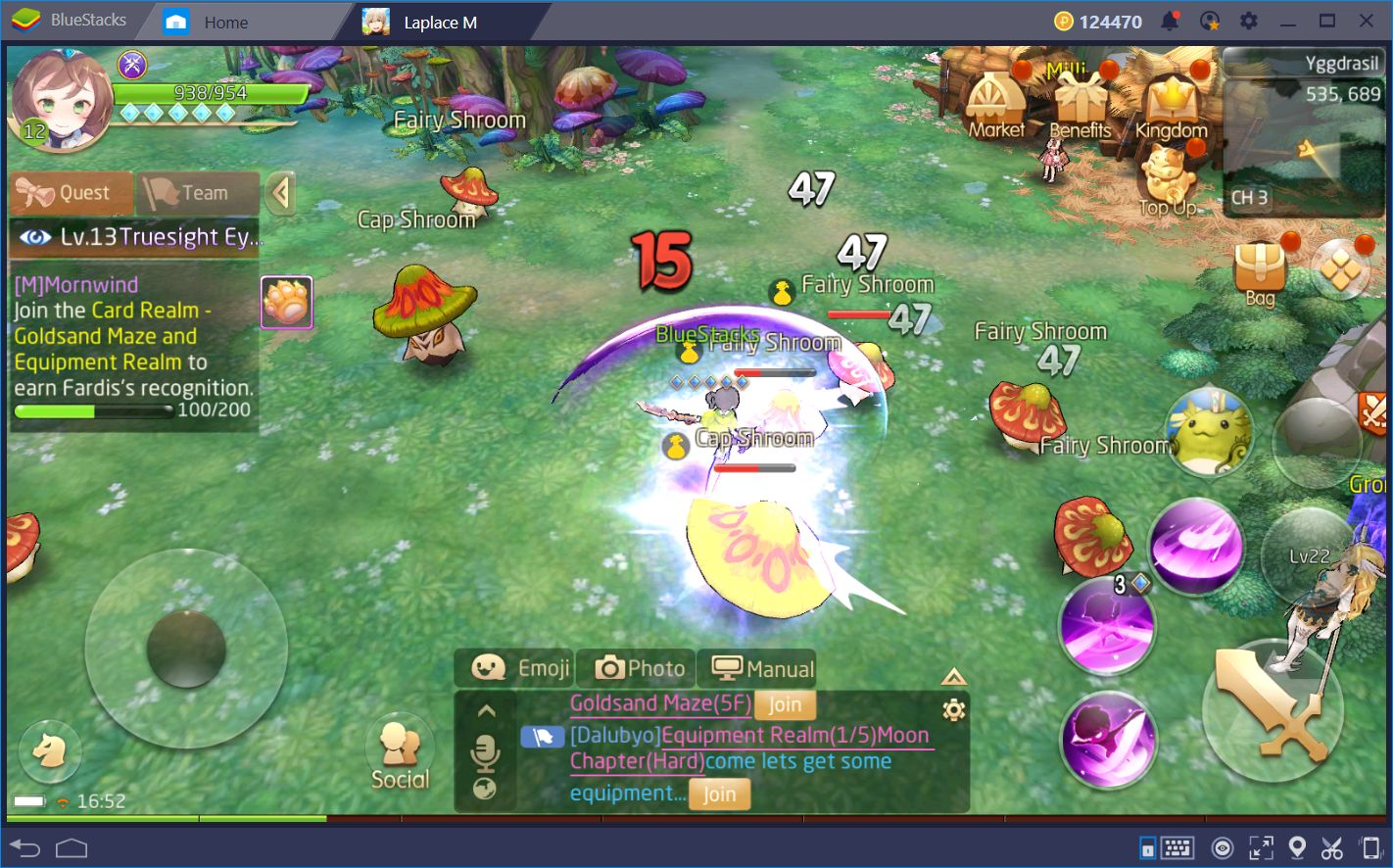 Destroy Your Enemies in Tales of Wind Using BlueStacks