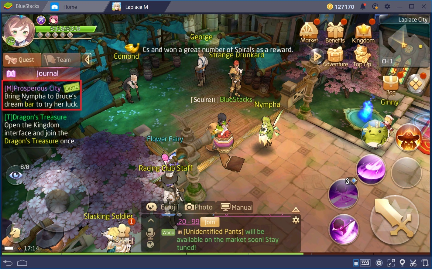 The Best Leveling Methods for Tales of Wind | BlueStacks 4