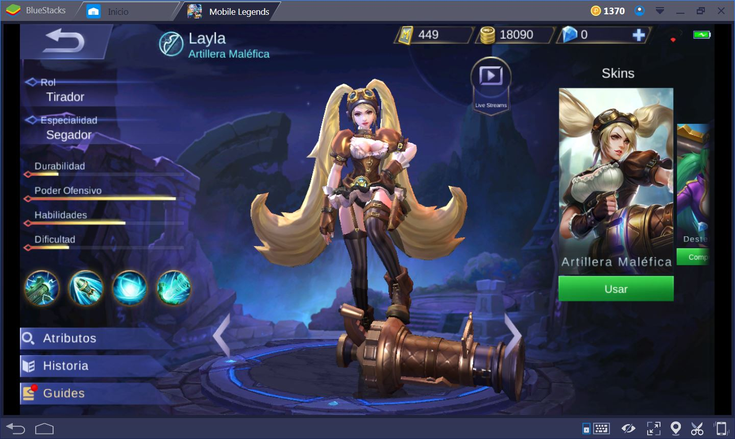 Mobile Legends Layla Es