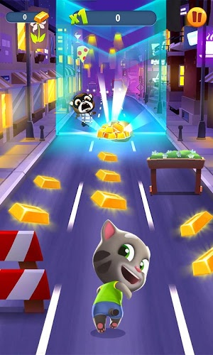 Play Talking Tom Gold Run on PC 2
