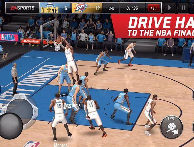 เล่น NBA LIVE Mobile on PC 12