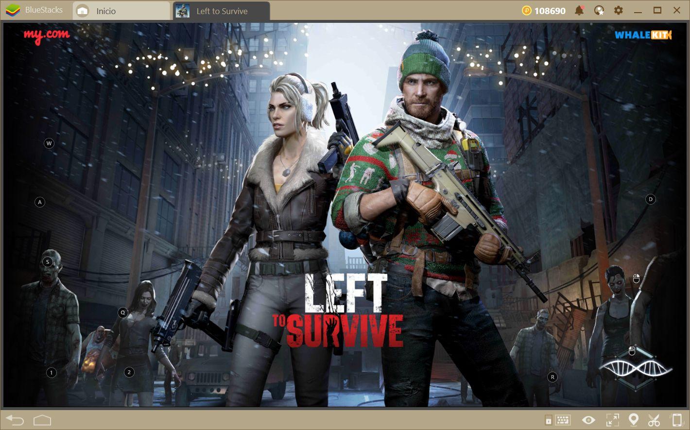 Left to Survive—Cómo Dominar Tanto Fuera Como Dentro del Campo de Batalla