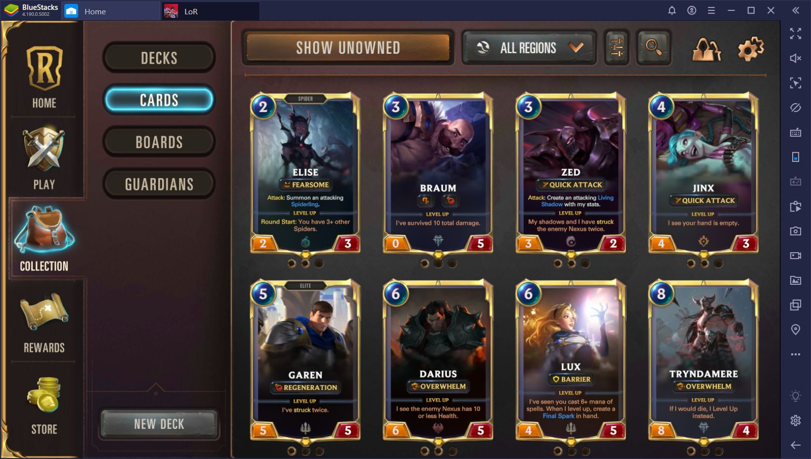 Legends of Runeterra on PC – How to Win New Cards and Expand Your Decks