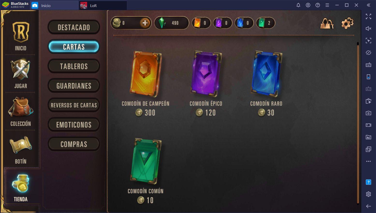 Legends of Runeterra - Cómo Obtener Nuevas Cartas y Expandir tus Mazos