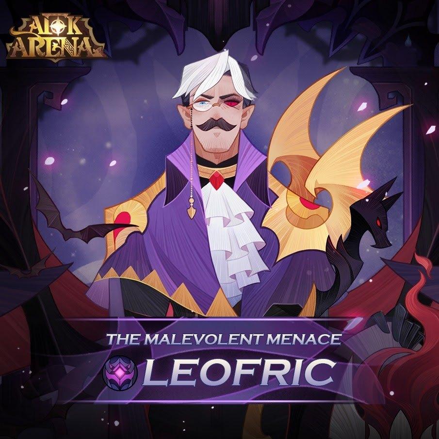 Леофрик из фракции «Подземные жители» — новый герой AFK Arena!