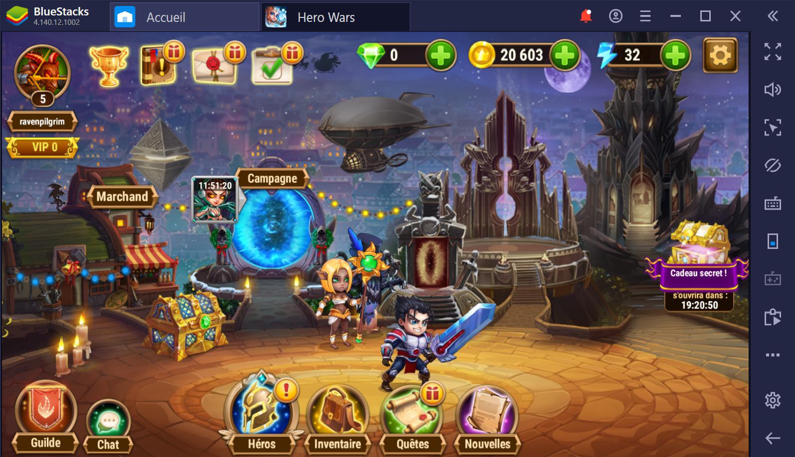Les meilleurs trucs et astuces pour Hero Wars sur PC