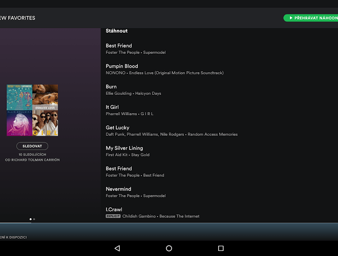 Spustit Spotify android app on PC 8