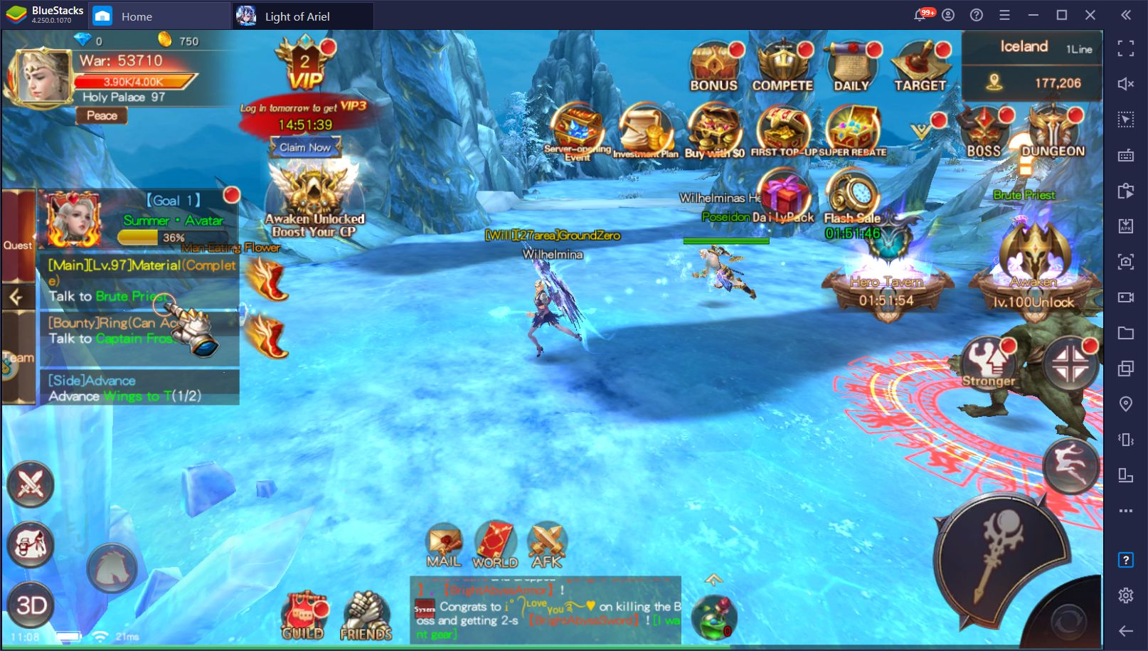 Light of Ariel on PC – How to Use BlueStacks Tools to Win in this Mobile MMORPG