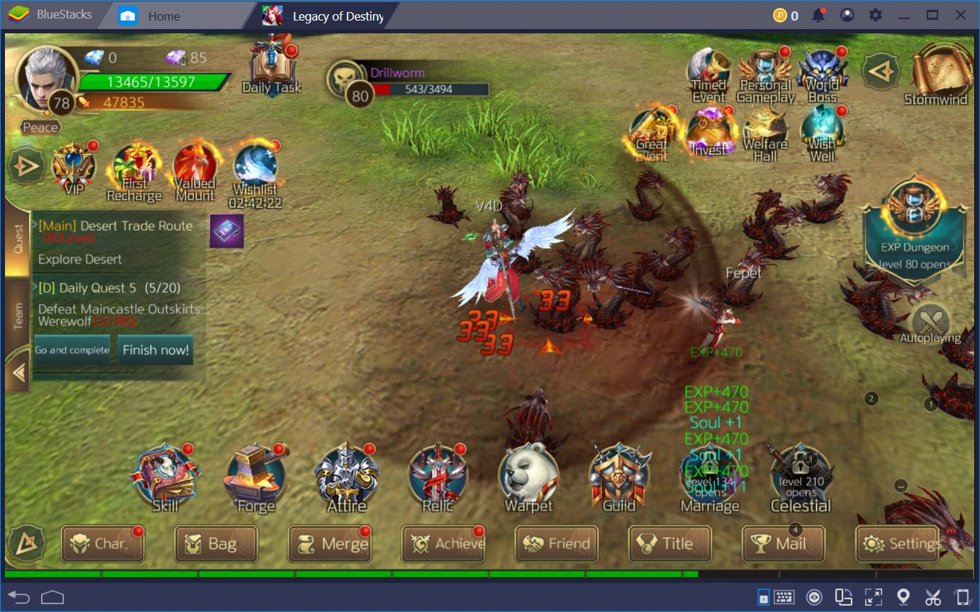Make Legacy of Destiny Even More Romantic with BlueStacks