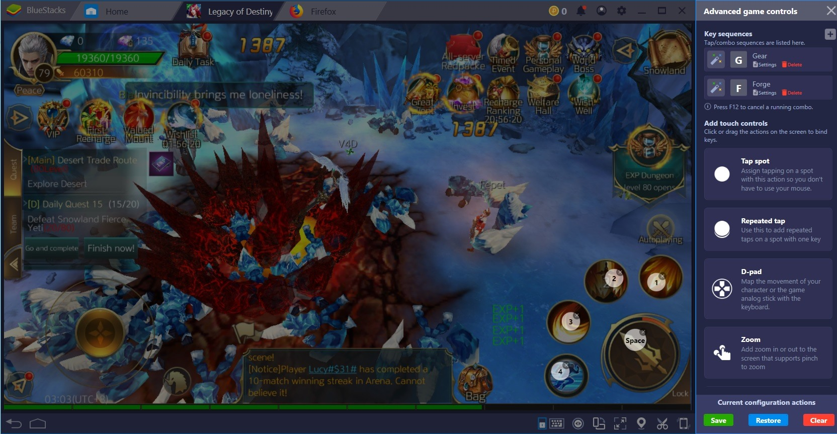 Make Legacy of Destiny Even More Romantic with BlueStacks