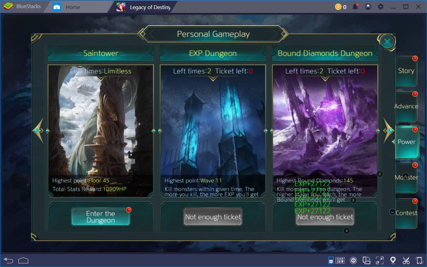 Legacy of Destiny: Lightning Fast Levelling with Dailies