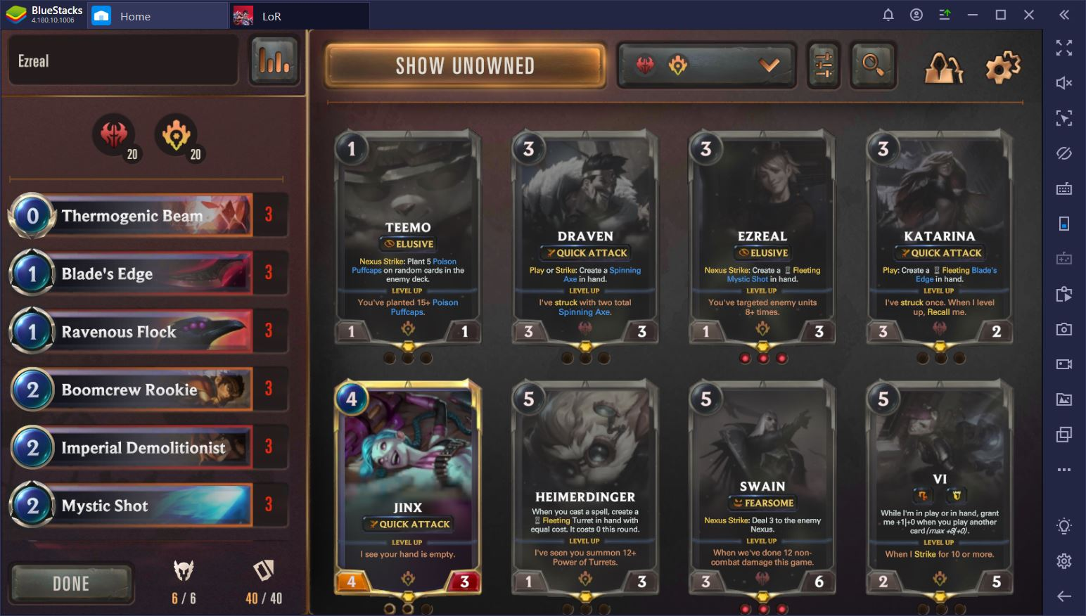 Legends of Runeterra on PC: Guide to the Most Common Deck Typologies