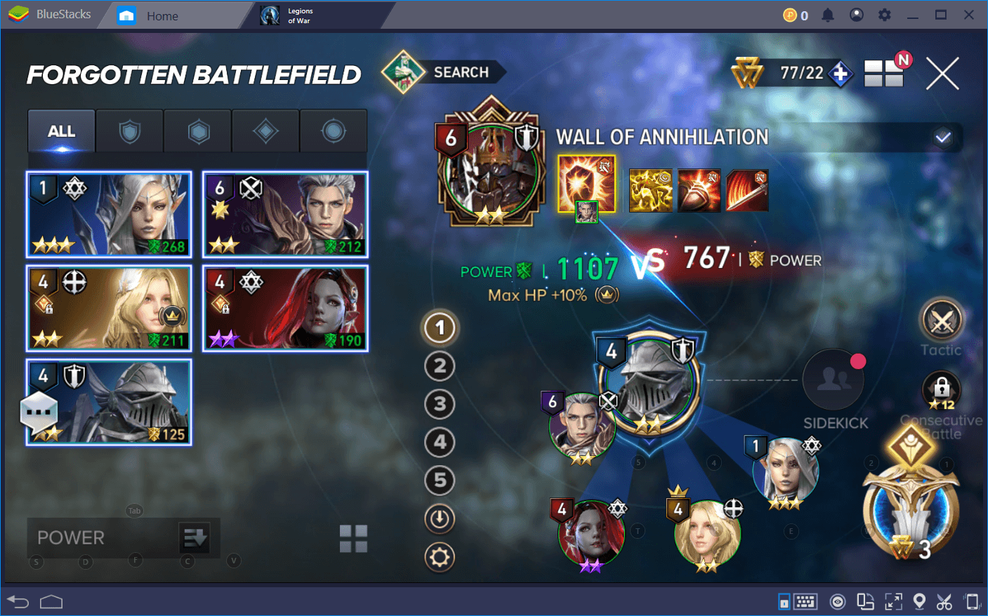Conquer Aion: Legions of War with BlueStacks