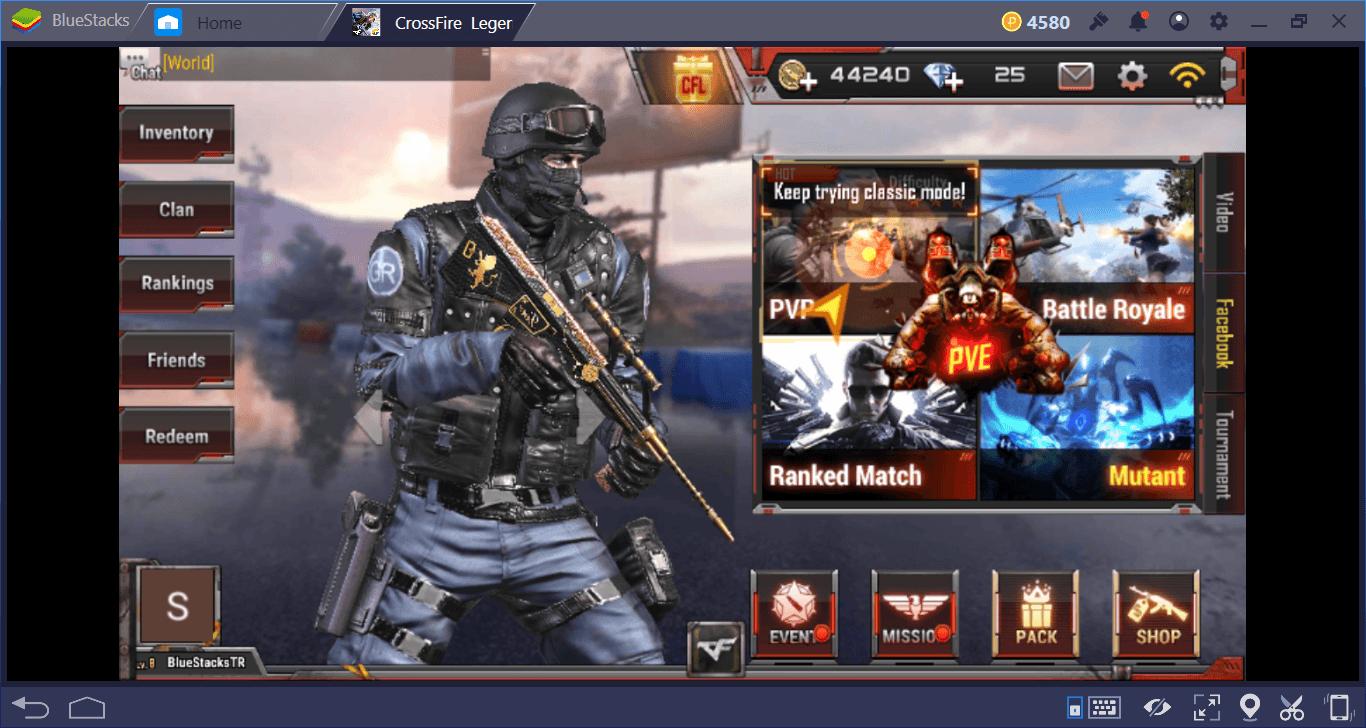 Crossfire Legends Haritalar ve Oyun Modları Rehberi