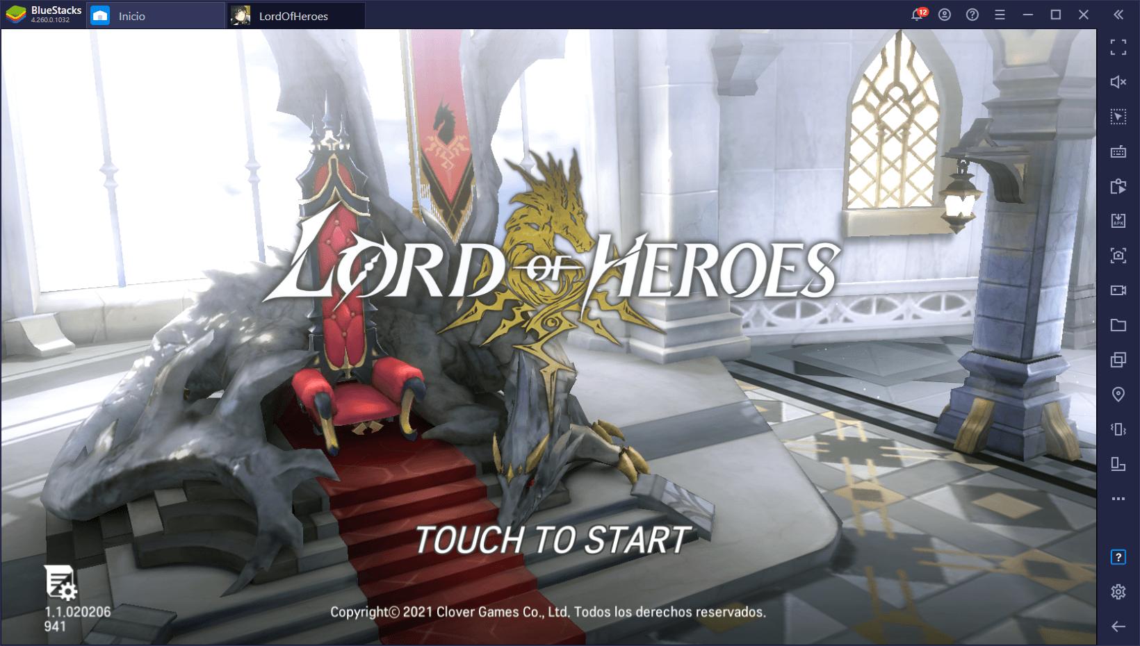 Guía Para Principiantes Acerca del Combate de Lord of Heroes