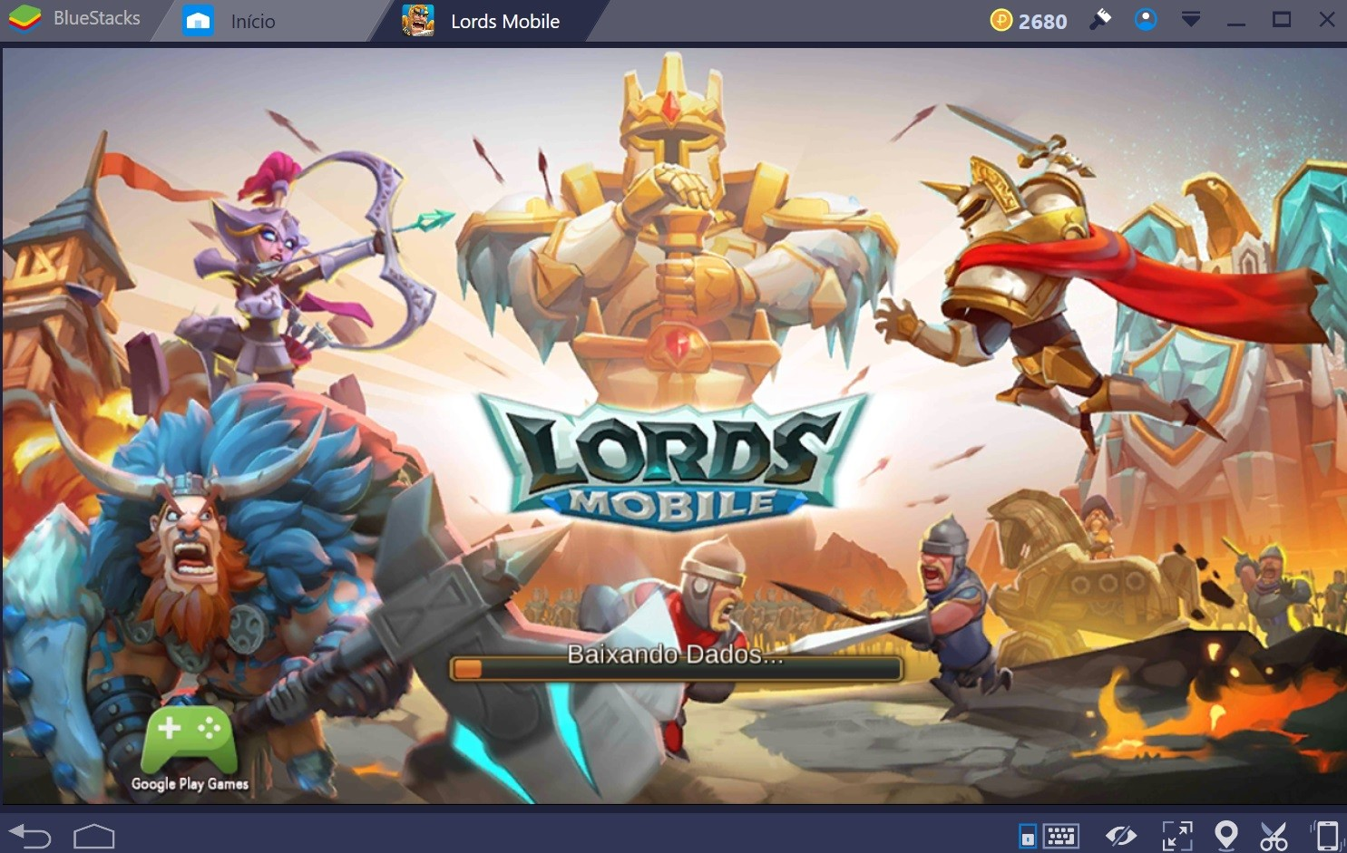 Guia para iniciantes em Lords Mobile