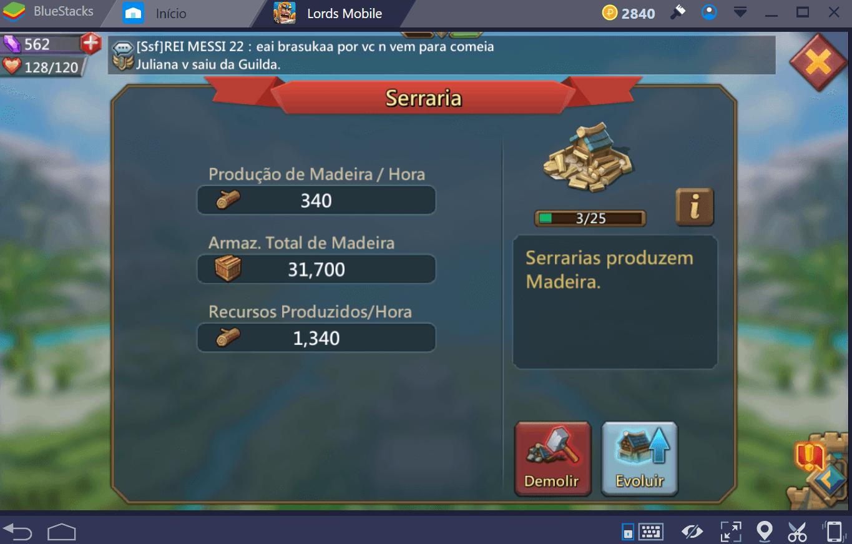 Guia de recursos para Lords Mobile