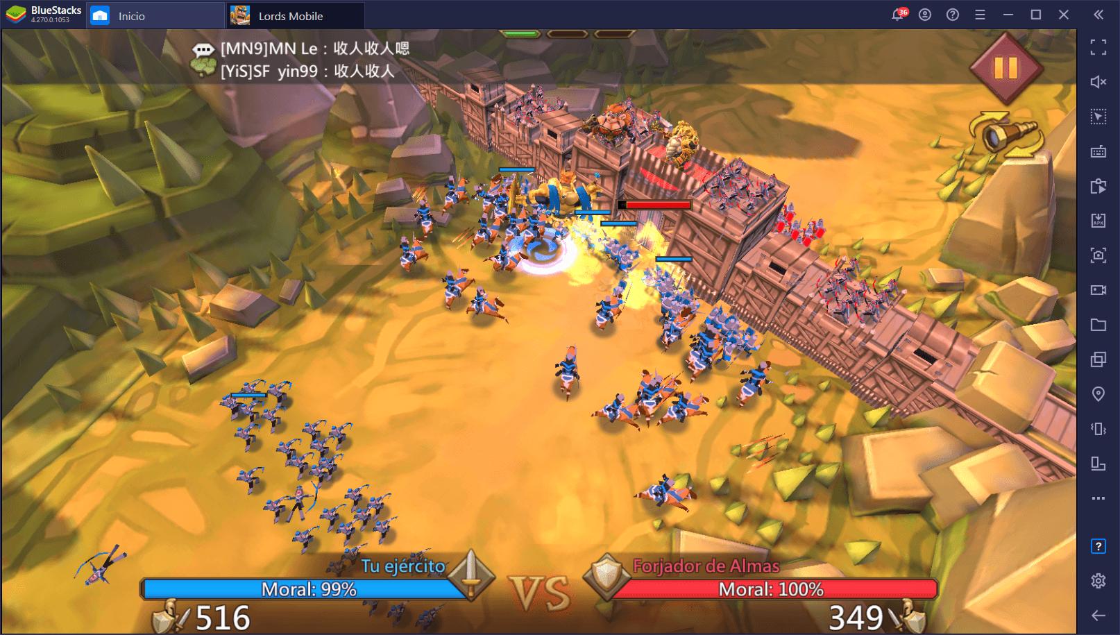 Cómo Instalar y Jugar Lords Mobile en PC con BlueStacks