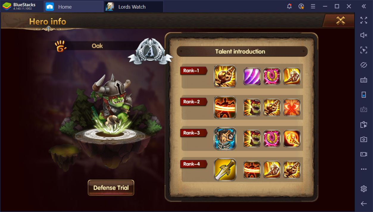 The Best Heroes in Lords Watch: Tower Defense RPG on PC