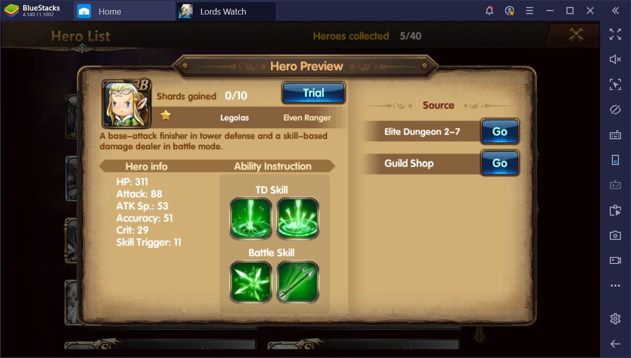 Lords Watch: Tower Defense RPG on PC—The Hero Types and How to Use Them
