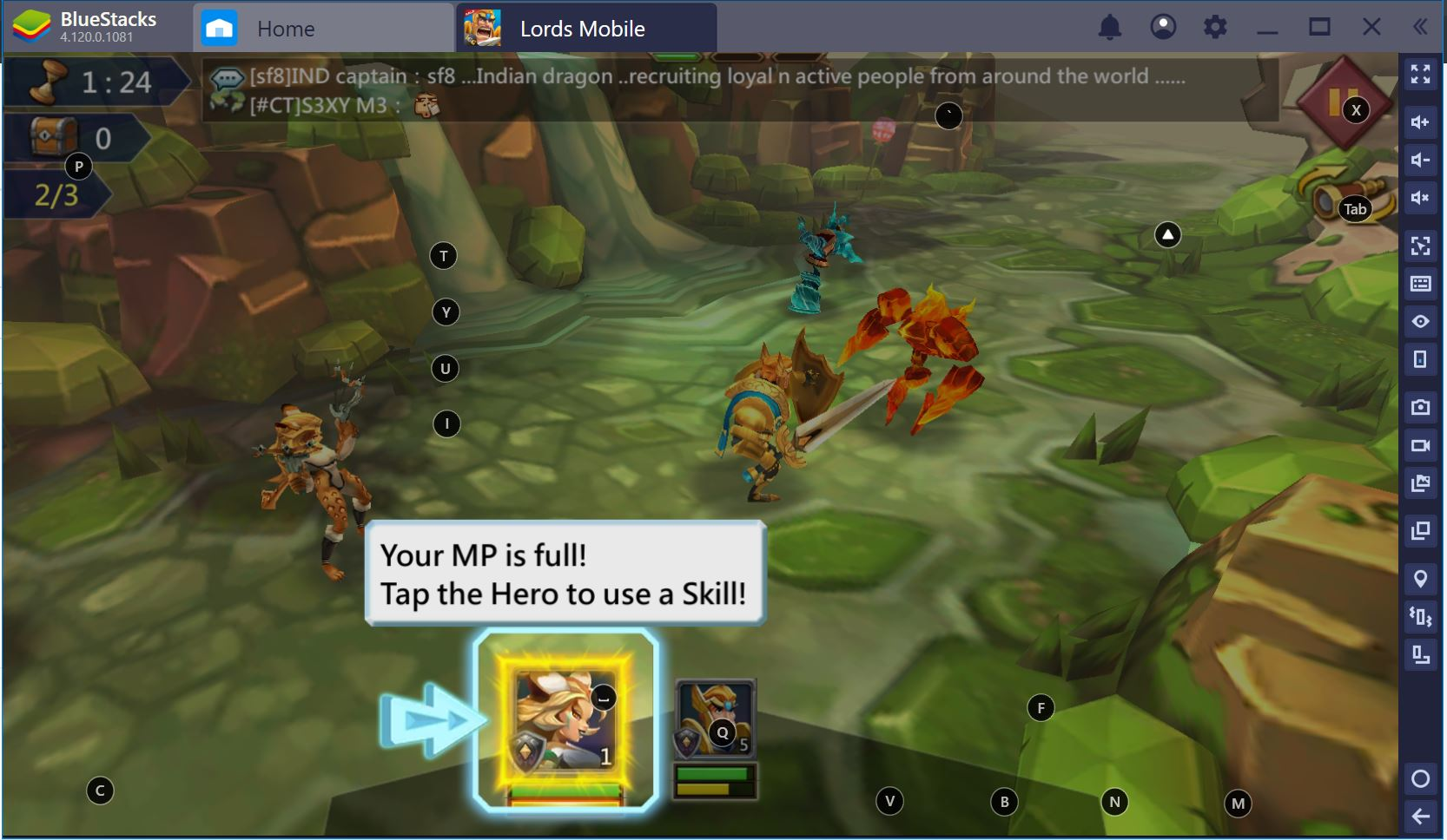Lords Mobile Guide: Using BlueStacks to Streamline Your Gaming Experience