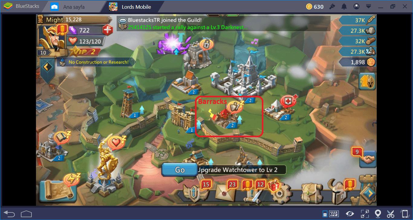 Lords Mobile: أي القوات هي الأفضل للهجوم والدفاع