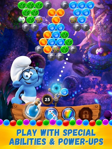 Play Smurfs Bubble Story on PC 11