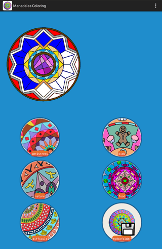 Play Mandala Coloring Pages on pc 13