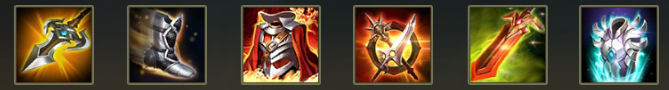 AOV Lu Bu Items