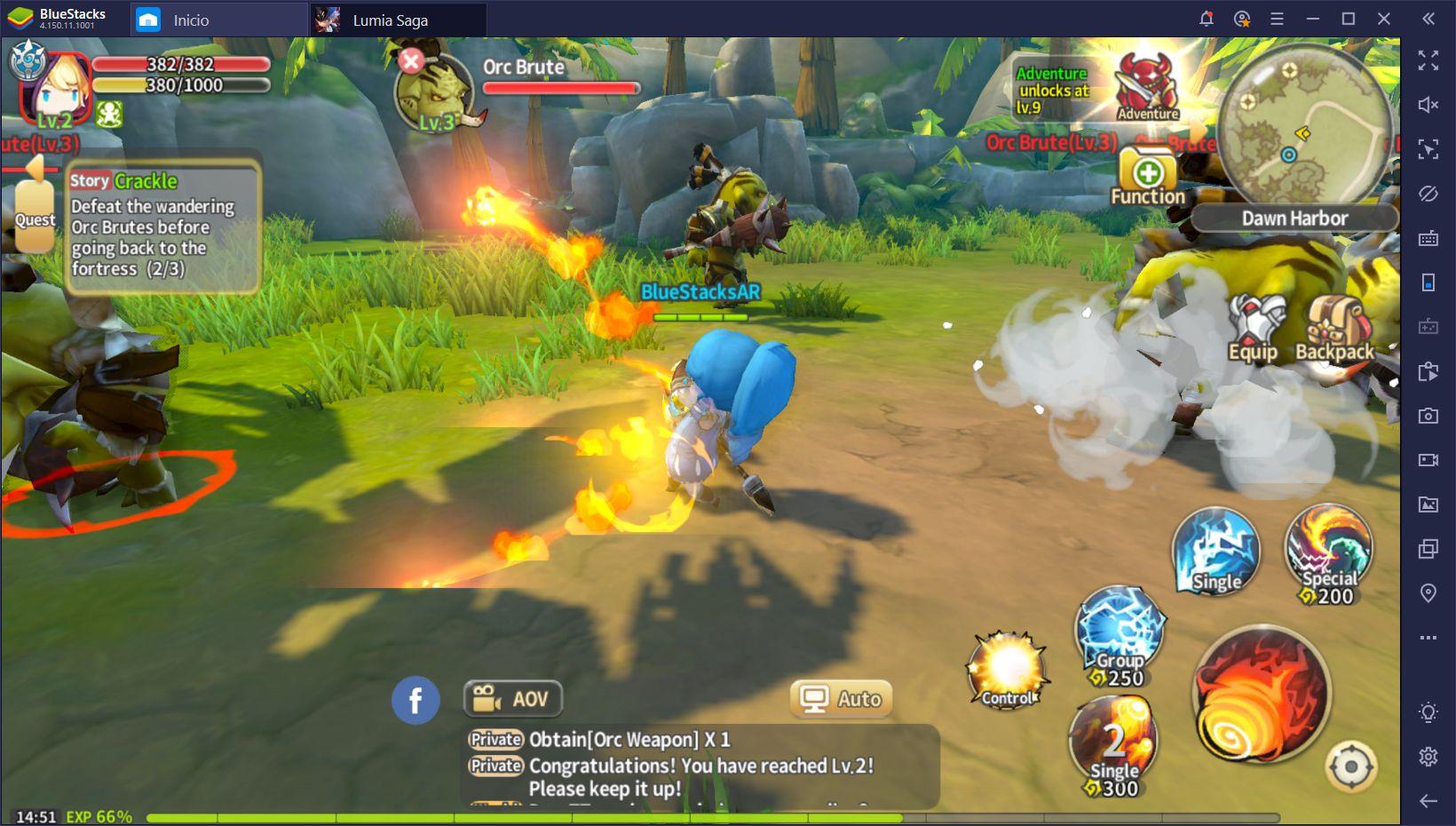 Lumia Saga en BlueStacks – Disfruta de Este MMO en tu PC