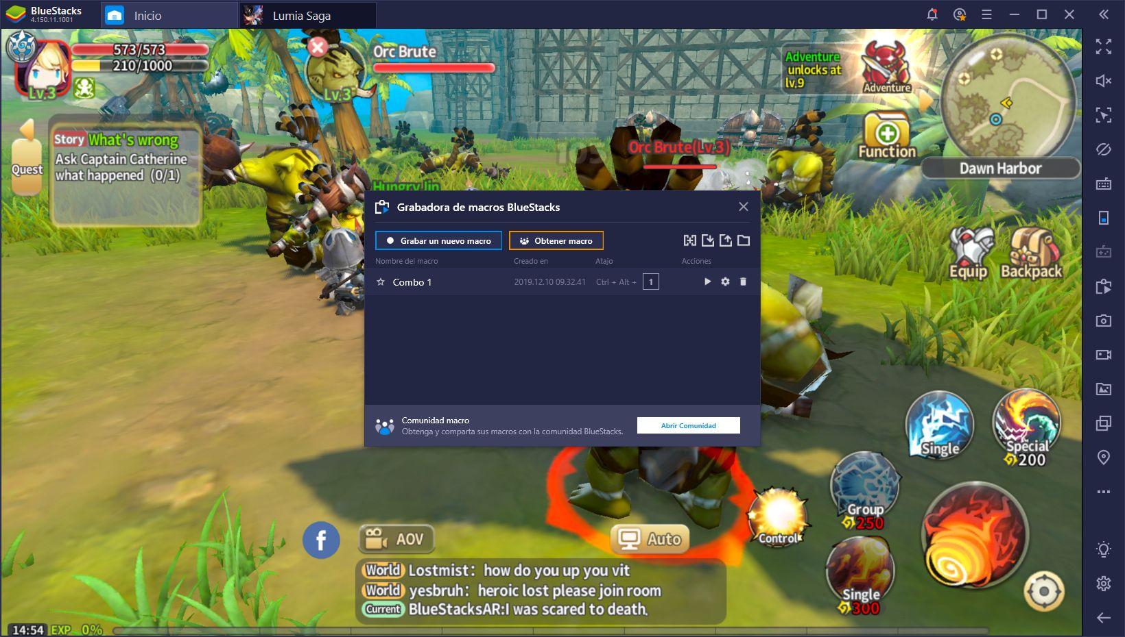 Lumia Saga en BlueStacks - Disfruta de Este MMO en tu PC