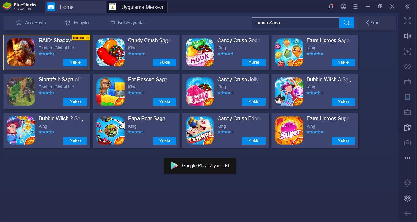 Lumia Saga İçin BlueStacks Kurulum Rehberi: Oynamaya Hemen Başlayın!