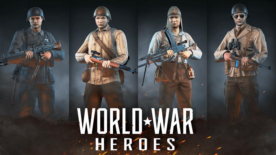 Играй World War Heroes: Вторая Мировая COD На ПК 3