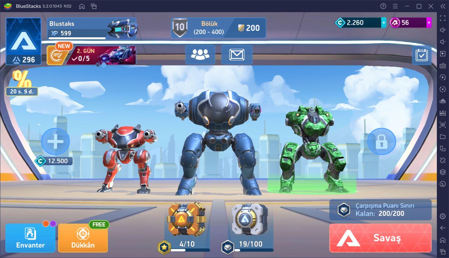Mech Arena: Robot Showdown Oyununda Her Savaşı Kazanın